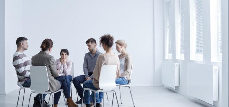 Spotkanie grupy terapeutycznej